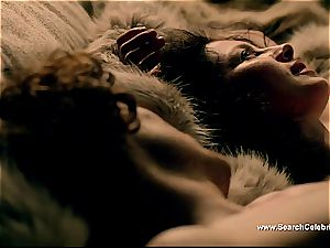 Caitriona Balfe in scorching romp episode from Outlander
