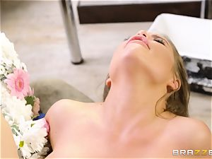 Alessandra Jane torn up stiff by Danny D
