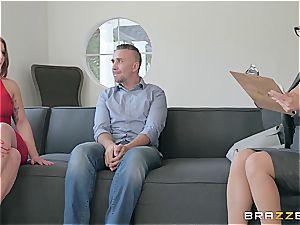 wild psychologist takes advantage of clients husband