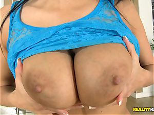 Anissa Kate getting trouser snake in her donk and poon