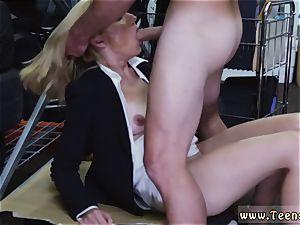 blond milf dual foray steamy mummy screwed At The PawnSHop