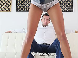 Anissa Kate gets a excellent assfuck creampie