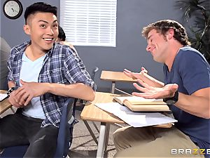 big-chested tutor Ava Addams is plumbed by her student