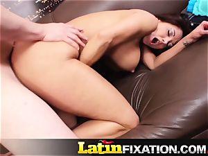 LatinFixation Ava Addams guzzle sugary-sweet cum