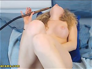 steaming blond Sunny sneer And ideal knockers