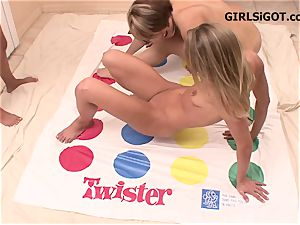 thin culos up 4 way lezzie twister party game