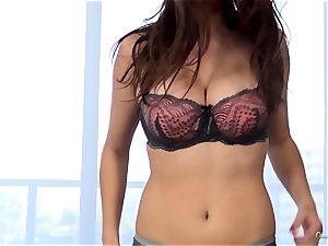 super-sexy new-cummer Ashley Adams works her casting flawlessly